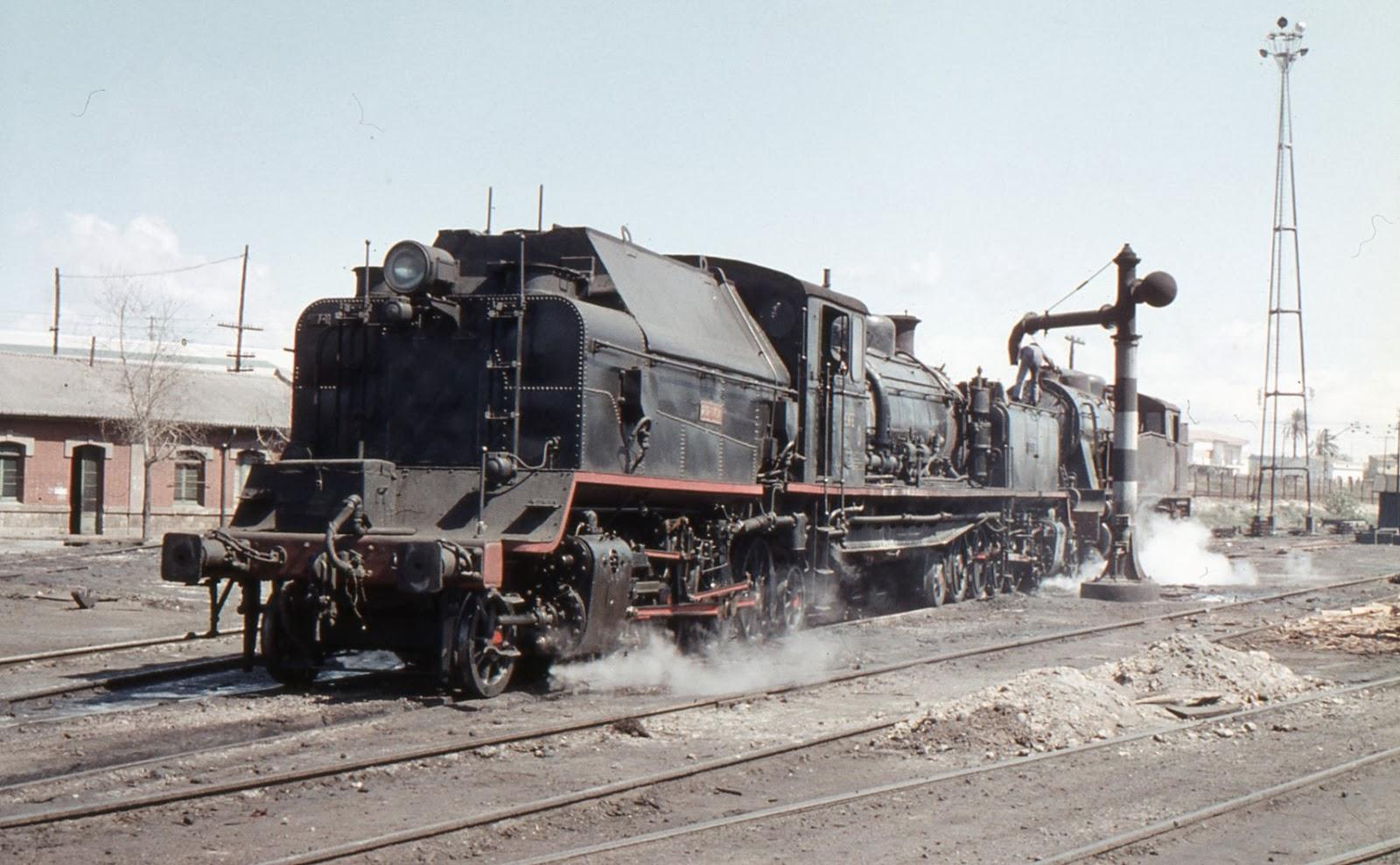Locomotora garrat - Central de Aragon , foto Xavier Santamaria