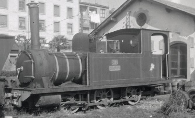 Locomotora nº 1 Zugastieta en Guernica