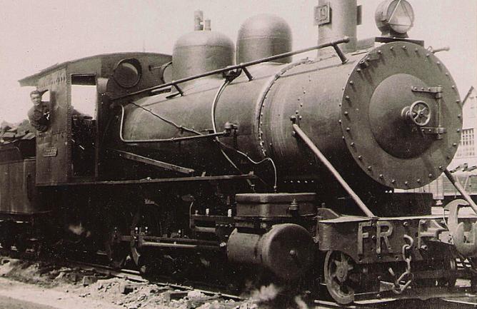 Locomotora nº 49 , ferrocarril de La Robla, archivo Miguel Angel Garcia