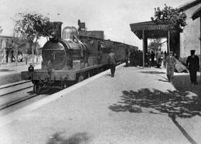 Locomotora nº 21 Lumbreras en Tijola Foto Reydon