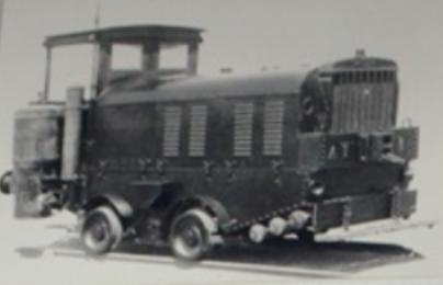 Locomotora tractor Cummings AT-1 , foto autor desconocido