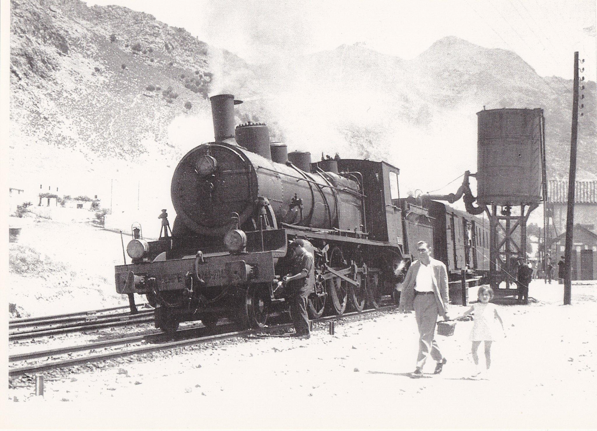 Estación de Loja . año 1963 , Marc Dalhastrom