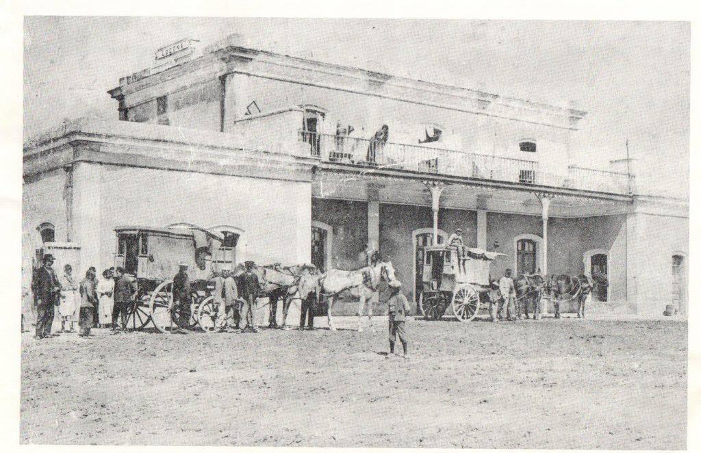 Estacion de Lucena (Cordoba), año 1920