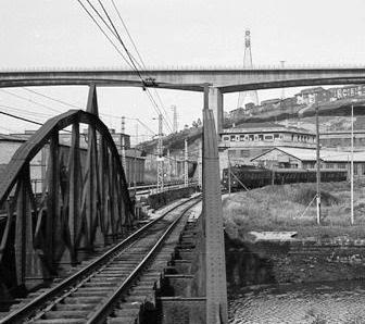 Lutxana, Puente sobre el Asua, foto Juan José Olaizola