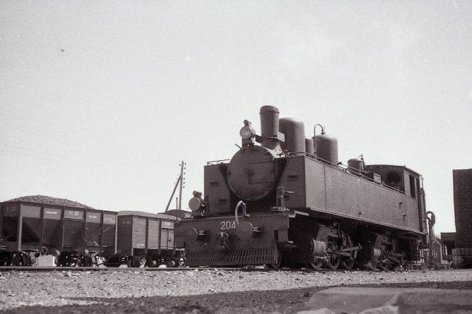 MFU, locomotora 204 , foto Trevor Rowe, fondo MVF