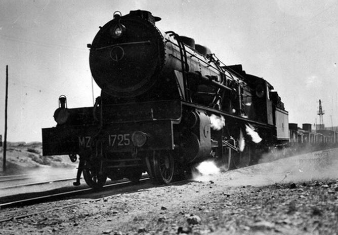 MZA , locomotora 1025