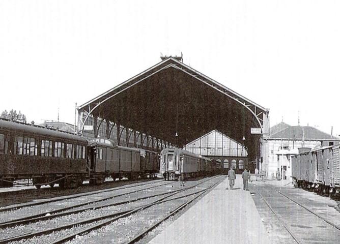 Madrid Delicias, con el Lusitania expres , decaa 19401950