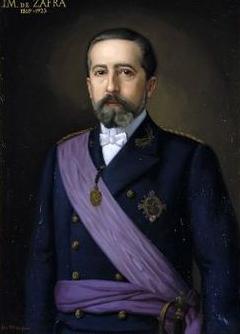 Manuel de Zafra y Esteban , Ingeniero de caminos, proyectista del embarcadero del Guadalquivir