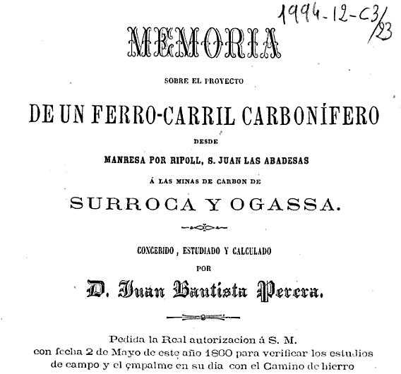 Memoria del proyecto de Juan Bautista Perera