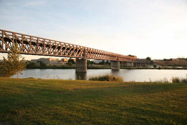 Merida, puente diseñado por Williams Finch, años 1881-1883, foto Alberto López Cordero