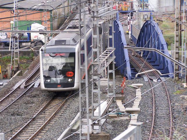 Metro de Bilbao - Erandio, foto EuskoTren