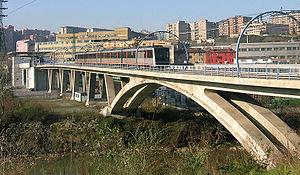 Metro de Bilbao- Estacion de Bolueta-Puente