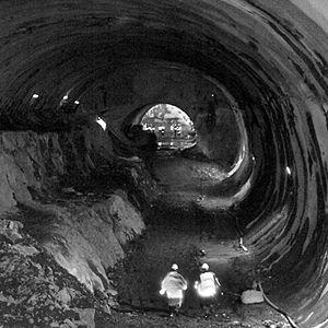 Metro de Bilbao Obras Estacion de Santurzi