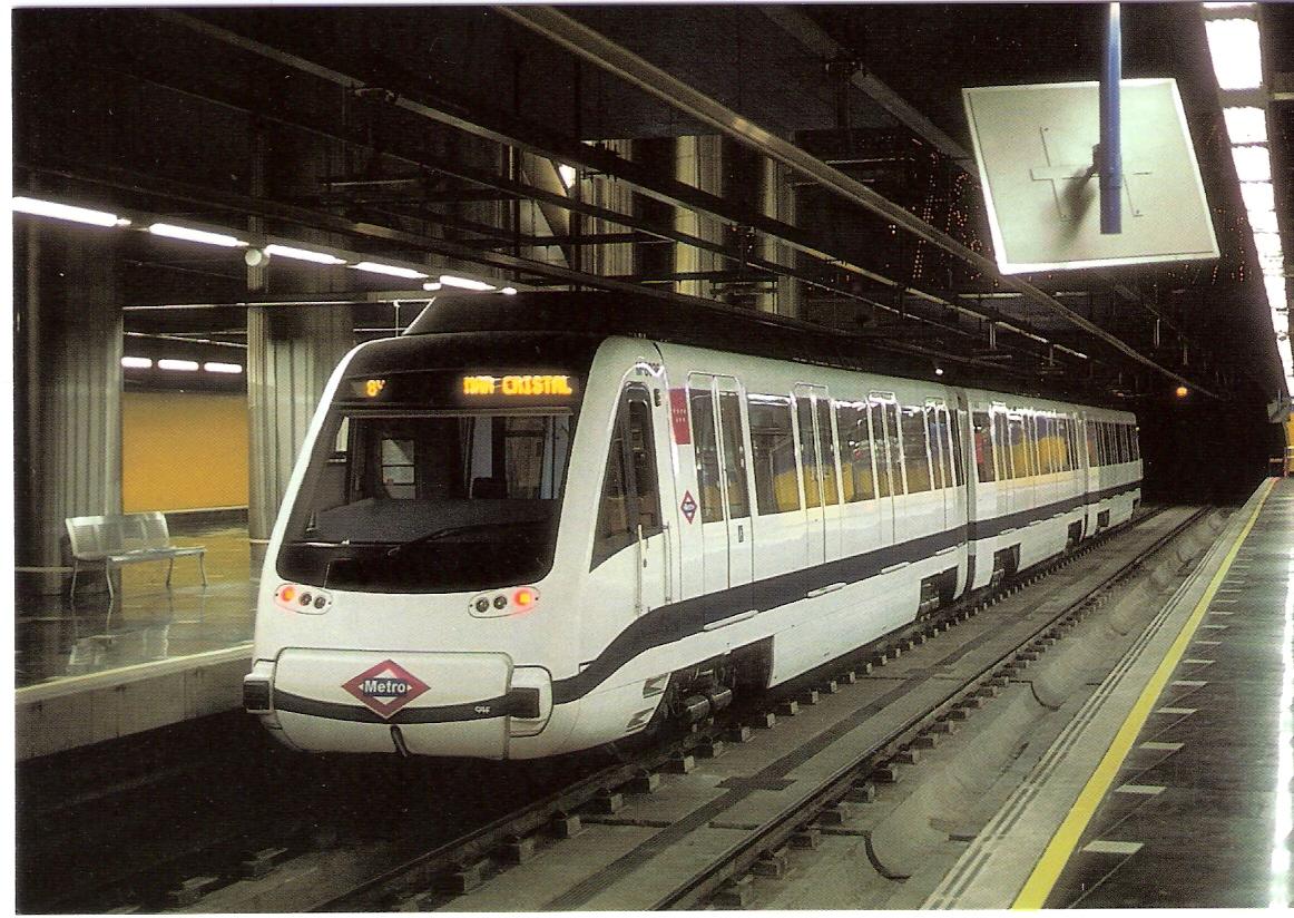 Metro de Madrid, Unidad M-8036, Eurofer, J.M. Garcia Toresano