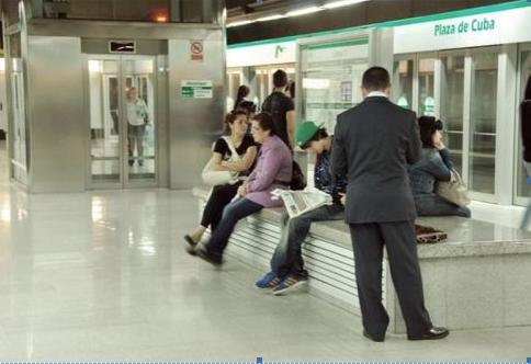 Metro de Sevilla , archivo Mikel Iturralde
