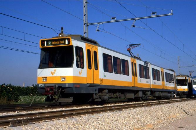 Metro de Valencia, serie 3900, fondo Enrique Andres Gramage