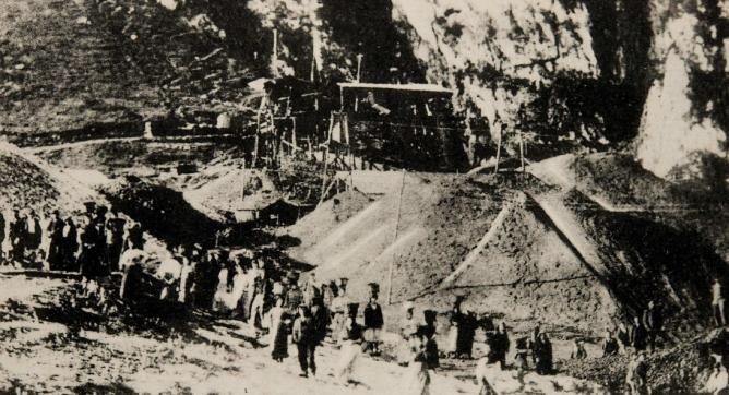 Minas de Comeya - en proximidades de Covadonga, Postal Comercial , Fototeca BNE
