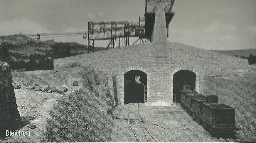 Minas del Cortijuelo . archivo Bleichert