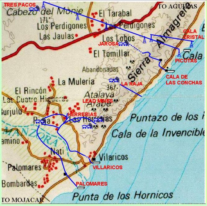 Mineria en Sierra Almagrera