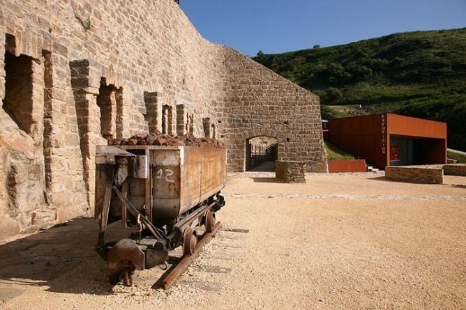 Cargadero de mineral de Mollari, vagoneta
