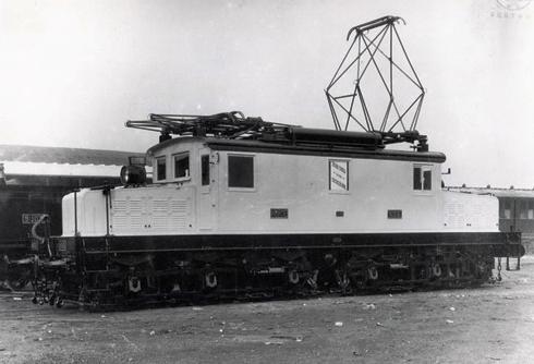 Norte , Locomotora serie 6001-6006, archivo SECN- Sestao