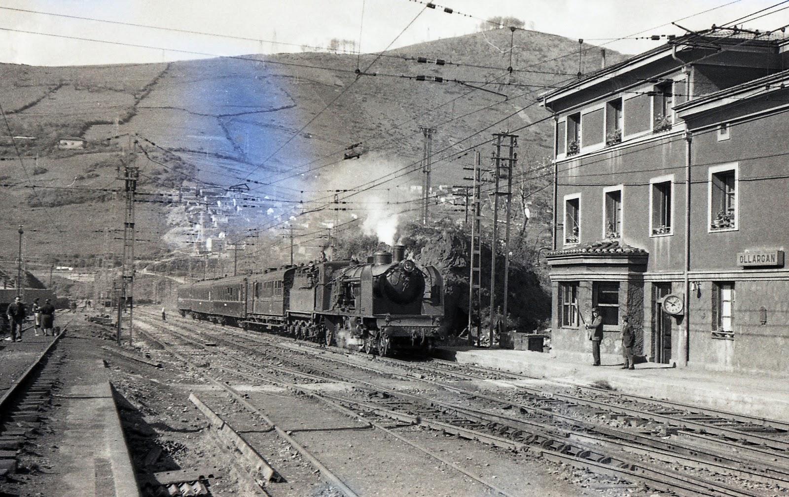 Ollargan 1956 - Bilbao , Foto Trevor Rowe, fondo MVF-Euskotren