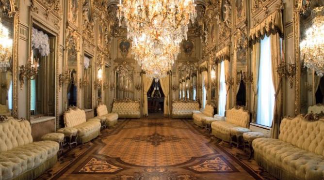 Palacio de Fernan Nuñez, salon de baile