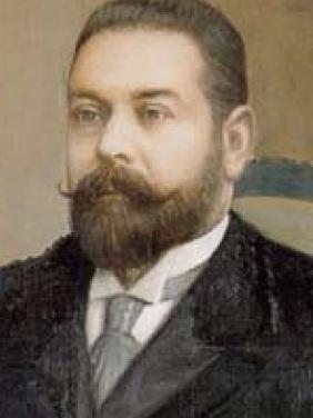 Pedro Pascual Gandarias , presidente del Consejo en 1896, fondo AGTH