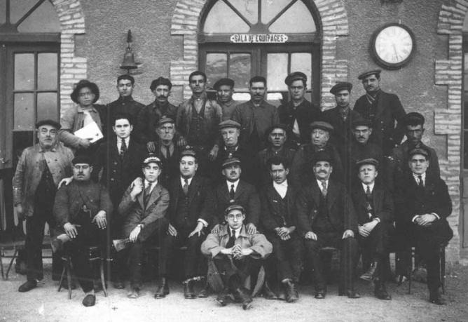 Personal de Servicio de la Linea de Cariñena a Zaragoza