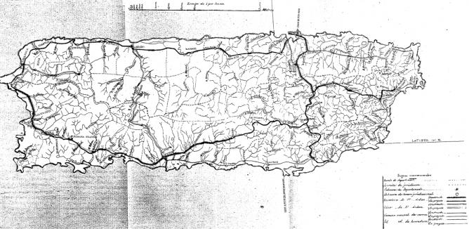 Plano de la Isla de Puerto Rico