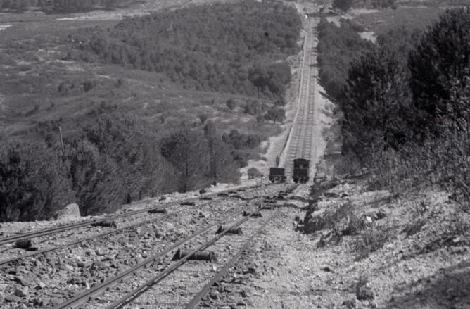 Plano inclinado de La Fija, junto al Puente del Tintillo