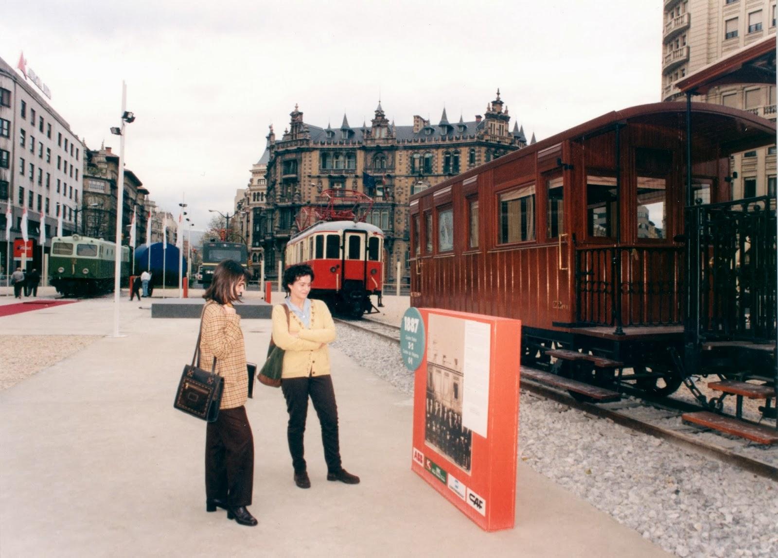 Spanish railway blog archive metro de bilbao - Plaza del gas bilbao ...