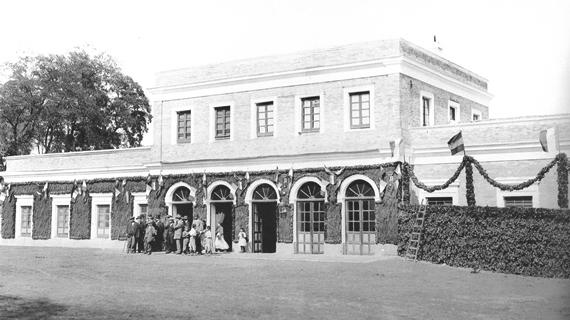 Primera estacion de Toledo, proyectada por el ing. de caminos Eusebio Page Albareda, archivo MFM.FFE