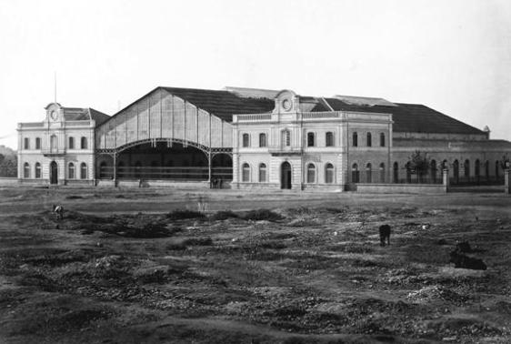 Primitiva estacion de Málaga , Archivo JPT