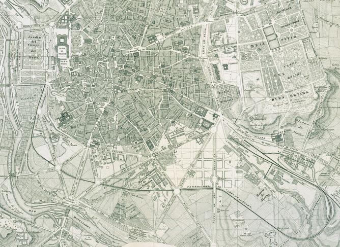 Primitiva linea de Contorno, proyecto de 1866, Vikipedia