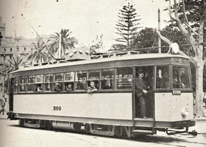Prototipo de la serie 300 , Fondo Ferrocarriles y Tranvias