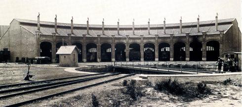 Puente Giratorio de Villanueva y la Geltrú , años 1940, fondo Museo de V y la G.