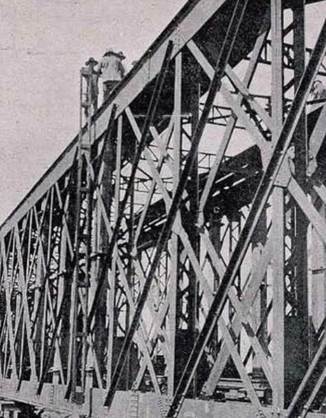 Puente Sobre el Guadalquivir , febrero de 1923, fondo Revista de Ingenieria y Construccion