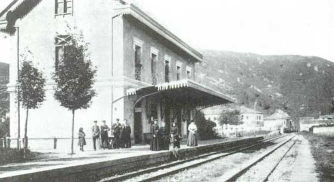 Puente Viesgo , linea de Astillero á Ontaneda, autor desconocido