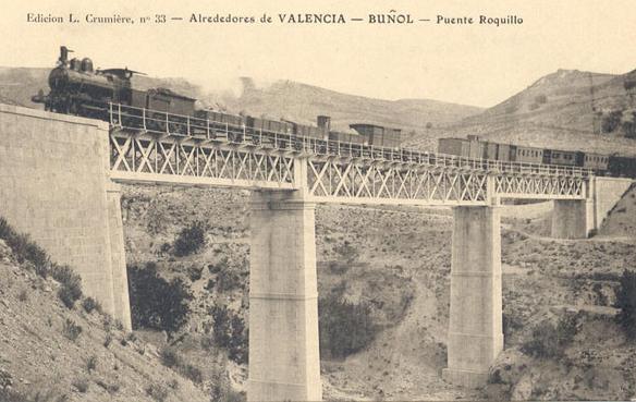 Puente de Roquillo, postal comercial