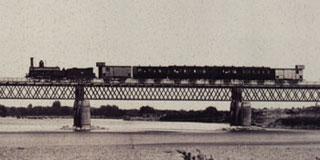Puente de hierro de Castejon
