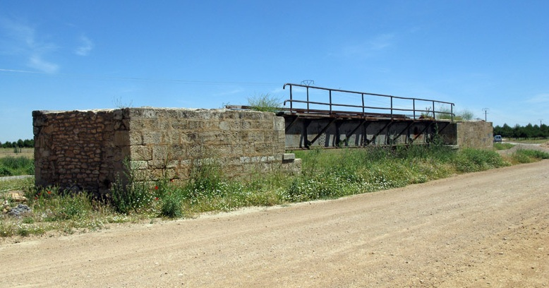 Puente del Canal del Gran Prior (Cinco Casas a Tomelloso) , fondo FCMAF