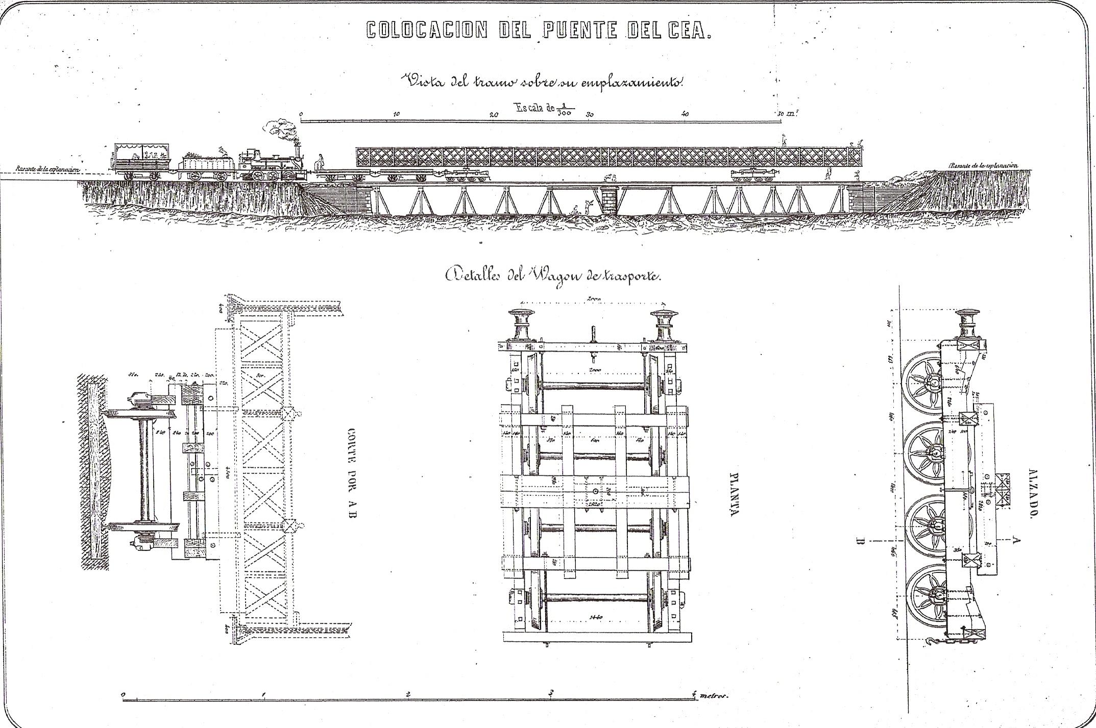 Puente del Cea ROP 1863