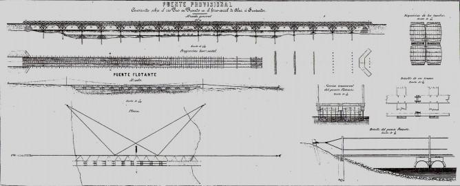 Puente del Pas en Renedo, ROP año 1863
