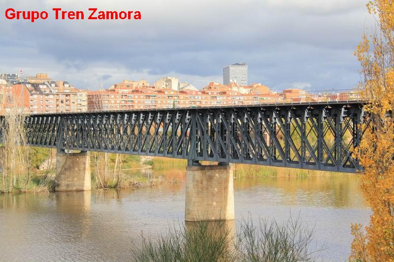 Puente en Zamora de la ruta de la Plata, fondo Grupo Tren Zamora