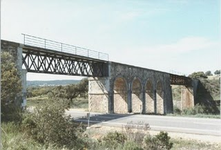 Puente en las inmeduiaciones del Castillo de las Guardas- foto Paco Alcazar