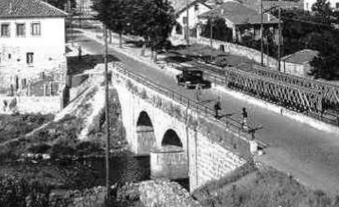 Puente entrecollado Villalba y Moralzarzal, fotografo desconocido