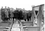 Puente sobre el Jucar entre Alberique y Villanueva de Castellon año 1922, foto José Barberá Masip