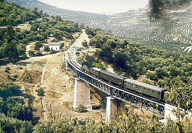 Correo de Puente Genil a Linares , año 1966, foto Tony Bowles