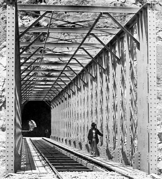 Puente y túnel de Los Gaitanes, archivo JPT